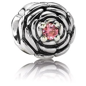 Pandora Blooming Rose Charm